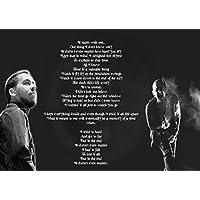 En el Final Chester Bennington de Linkin Park, Gran, Rock, tapa, álbum, de metal, diseño, música, banda, mejor, foto, imagen, único, impresión, letras,