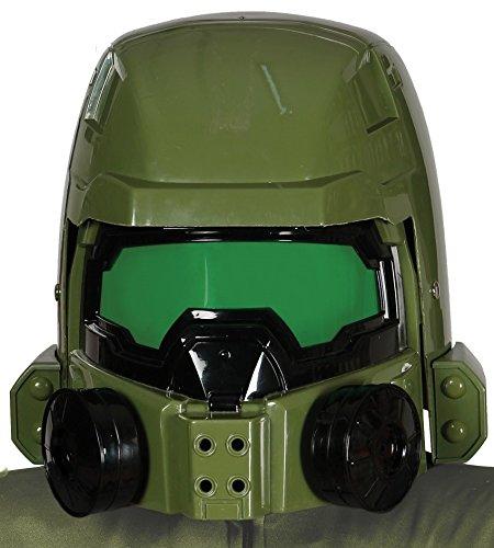Guirca grüner Weltraumkrieger Soldaten Sternen Helm Master Krieger Helm für Erwachsene