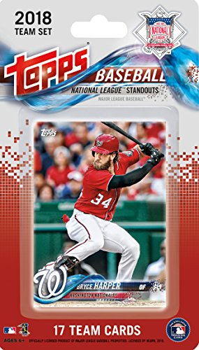 7c9e2ec09 2018 Topps National League All Stars Factory Sealed Limited Edition 17 card  team set with Bryce