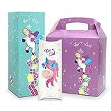3er Set Geschenkbox / Geschenkverpackung Einhorn - 3 Boxen in verschiedenen Farben, Formen & Größen