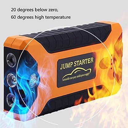 51Ky9qJNy5L. SS416  - Detectoy 22000mAh Multifunción Jump Starter Battery Emergency Car Fuente de alimentación 12V LCD Digital Engine Booster Banco de Potencia para portátil
