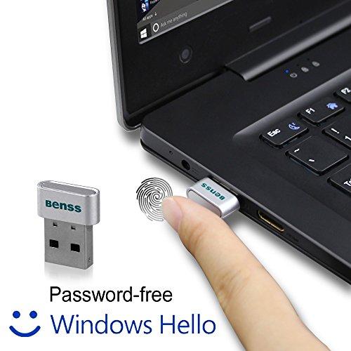 Benss-Nuevo-diseo-ms-inteligente-lector-de-huellas-dactilares-Windows-Hello-USB-Teclado-numrico-Inicio-de-sesin-ofrecen-un-securest-y-forma-ms-para-desbloquear-Windows-10-dispositivos-Trabaja-sobre-ap