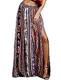 Frauen Damen Gypsy Floral Tribal Boho Maxi Strand Leger Rock Kleid