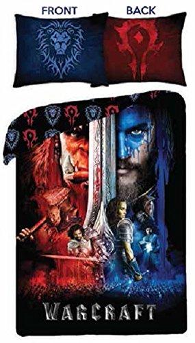World of Warcraft WoW Bettwäsche Kinder Bettwäsche 140x200 cm (Oeko Tex Standard 100)