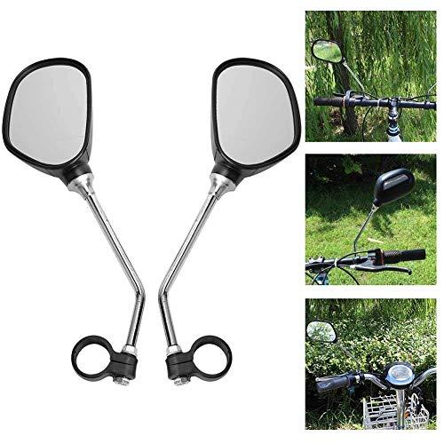 Bnineteenteam Espejo retrovisor de Manillar de Bicicleta de 1 par para Bicicletas de Carretera, Bicicletas...