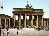 The Poster Corp Brandenburg Gate C1895. /Nthe Brandenburg