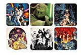 Star Wars - Untersetzer 6er Set - Retro Movie Poster - Episode 4-6