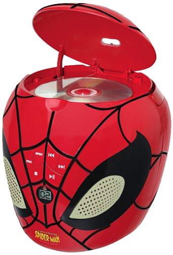Lexibook - RCD200SP - Spider-Man CD-Player Cd-player Für Kinder Spiderman
