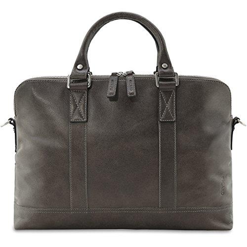 Cafe Ventiquattrore Briefcase Borsa mens Picard 4264 Buddy Grigio Pelle ZFxFwf0H