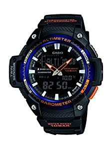 Casio Collection – Reloj Hombre Analógico/Digital con Correa de Resina – SGW-450H