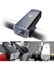 CosyVie LED Luz de Bicicleta, con Cree T6 XML Pera eingesetzt, 885lumen Tiempo de funcionamiento y larga, USB recargables y tres modos de luz, un Dispositivo Necesario para Ciclismo, Camping, Caza o Pesca Nocturna