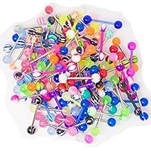 20 paquete boquilla anillo de la lengua - ideal para pequeños comercios o combinado con otros
