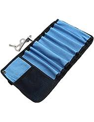 WINOMO Pistola de escalada de mano para pistolas de escalada Pernos de hielo de protección y organización (azul)