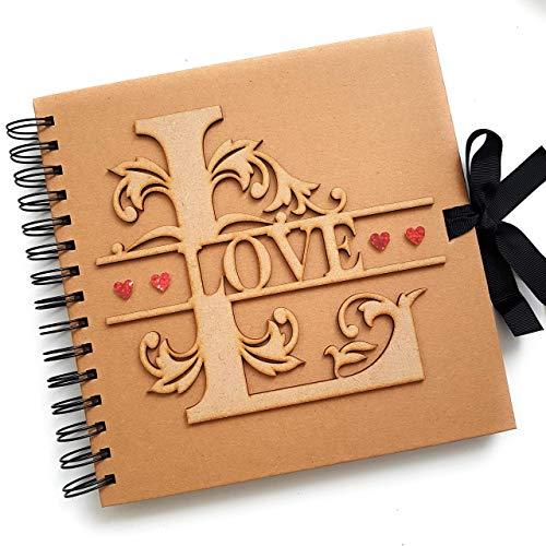LOVE Scrapbook Album, Rustic Val...