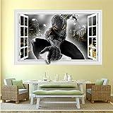 JUNMAONO Spiderman Wandaufkleber/Abnehmbare Wandbild Aufkleber/Wandgemälde/Wand Poster/Wandbild Aufkleber/Wandbilder/Wandtattoo/Pinupbild/Beschriftung/Pad einfügen/Tapete/Tapezieren/Tapeten/Wand Zeitung/Wandmalerei Haftnotiz/Fühlen Sie sich frei zu kleben/Instant Aufkleber/3D-Stereo-Wandaufkleber (-1)