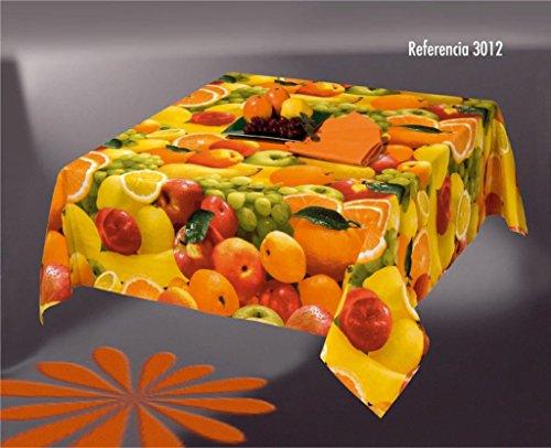 Sabanalia - Mantel Antimanchas Fruit 3012 - 150 x 200
