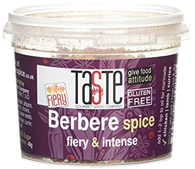 Gourmet Spice Company Hot Berbere Spice 40 g (Pack of 3) by Gourmet Spice Company