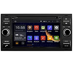 """generic7""""Navigation Voiture Pour Ford Focus Mondeo S-MAX Connect avec lecteur DVD GPS mst786A9"""