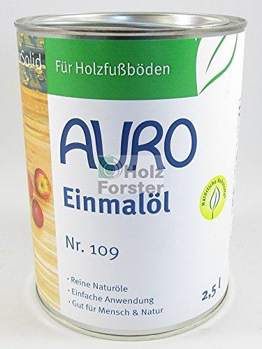 AURO Einmalöl PurSolid Transparent Nr. 109, 2,50 Liter