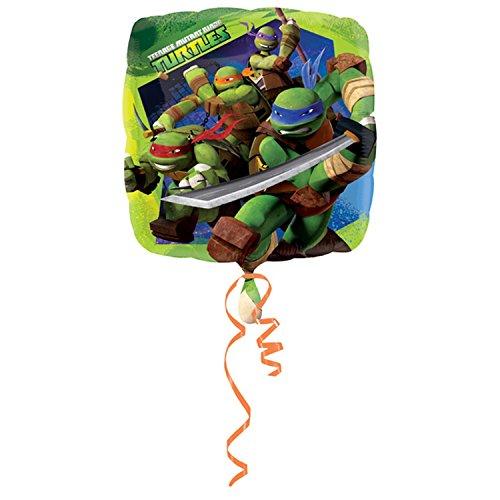 amscan Luftballon mit Teenage Mutant Ninja Turtles Design, 46 cm (Einheitsgröße) (Grün) (Turtle Gefüllte Ninja)