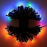 Lixada 17m 100 LED Solar Power String Fairy Light Outdoor Garden Lawn Xmas Party
