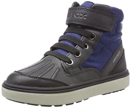 Geox Jungen J Mattias B Boy ABX B Chukka Boots, Blau (Blue/Anthracite), 39 EU (Jungen High-schnee-stiefel)