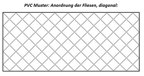 beige L/änge: 200 cm, Breite: 400cm PVC in Natur-Fliesenoptik von Alpha-Tex 9.95/€//m/²