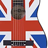 Guitare classique Junior Union Jack par Gear4music