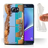STUFF4 Gel TPU Phone Case / Cover for Samsung Galaxy Note 5/N920 / Tiki/Beach Design / Thailand Scenery Collection