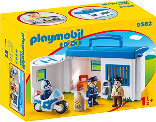 Playmobil Commissariat de Police transportable, 9382