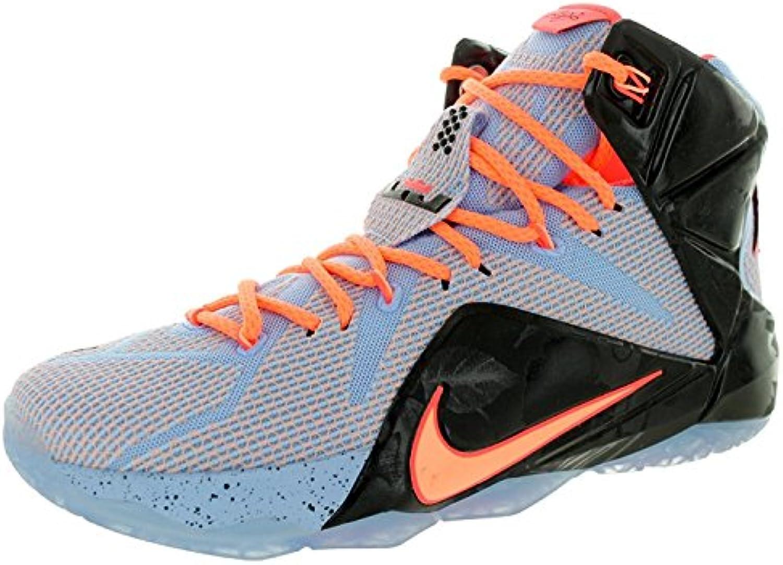 Nike LeBron XII Men's Basketball Sneaker  Blau  46 DM EU/11 DM UK