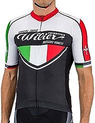 Wilier Squadra Corse Camiseta (S) – Camiseta Hombre de carreras Nalini Pro Hombre Carreras Camiseta Negro Yar & # X131; & # x15 F; Formas & # X131; Fahrradtrikot Günstig