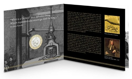 The 350th Anniversary of the Guinea £2 Coin Pack by Royal Mint