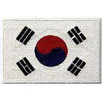 Bandera Nacional De Corea Del Sur Bordada Corea Del Emblema Del Estado De Hierro En Coser