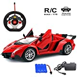 Jack Royal Opening & Closing Doors With Full Function 1/16 Scale Famous Remote Control Car, Color May Vary As Per The Availability(Red,Yellow Or Orange)