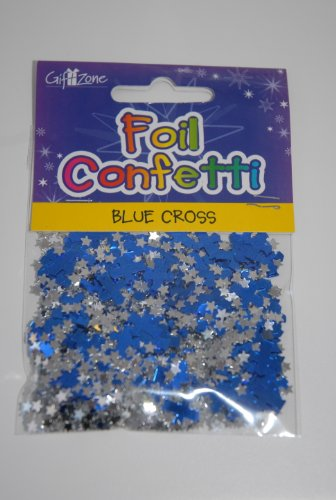 blue-crosses-with-silver-stars-table-confetti-sprinkles-communion-etc