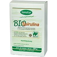 Sanatur Bio Spirulina Nachfllpackung 750 Stk preisvergleich bei billige-tabletten.eu