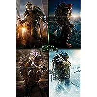 GB Eye Ltd, Tortugas Ninja Movie, Quad, Maxi Poster