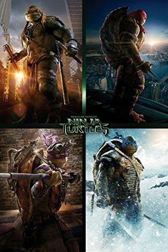 GB Eye Ltd, Teenage Mutant Ninja Turtles Movie, Quad, Maxi Poster