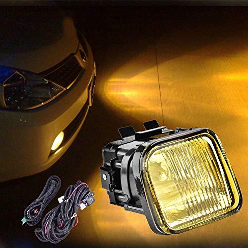GOTOTOP 2 Phares LED Projecteur de Travail Imperméable et Antichoc Kit de Feux Antibrouillard pour Voiture Civic EK