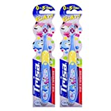 Trisa Trisababy Toothbrushes For Babies(Pack of 2 in Different Colours)