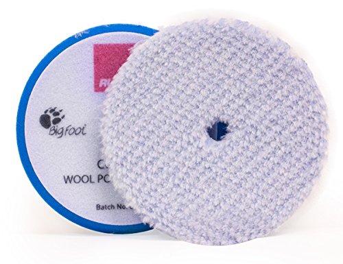 2 Stück Rupes Bigfoot Blaue Woll Pads Grob /Coarse 130/150mm für Mille LK900