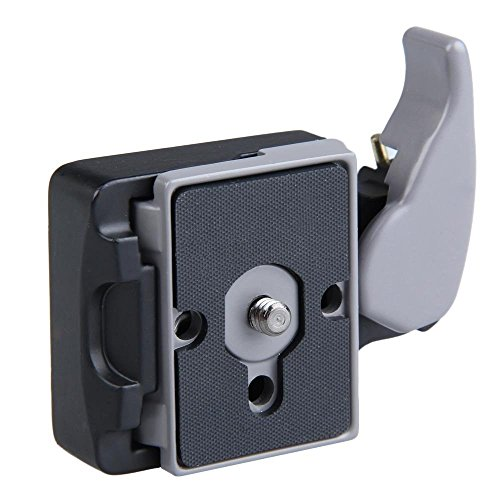Imported Quick Release Clamp Adapter with Plate Compatible for Manfrotto 200PL-14
