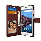 Lenovo Z2 Plus PU Leather Magnetic Flip Cover Wallet Case by FOSO(™) (Brown)