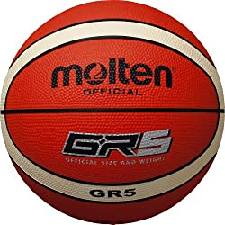 molten balón de baloncesto, Orange/Ivory, 5, BGR5-OI