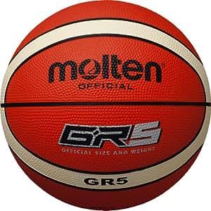 molten Basketball, Orange/Ivory, 5, BGR5-OI