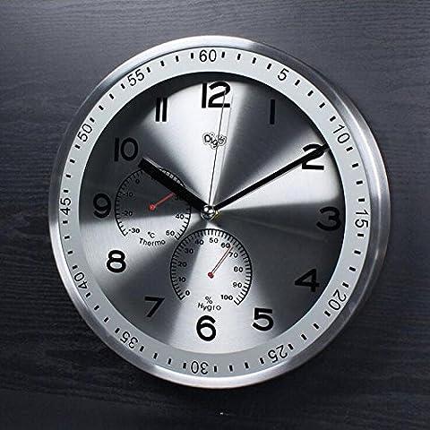 FEI&S Creativo de Arte Moderno Reloj de pared Reloj de pared sólidos Diseño Moderno salón y dormitorio pared Watche #13