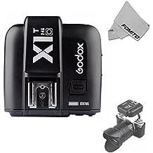 Fomito Godox x1t-o TTL disparador de luz estroboscópica 1/8000s HSS 32Canales 2.4G LCD Disparador de flash inalámbrico para Olympus Pen-F E-P5, E-PL6, E-PL5e-pl8E-M1e-m10ii y Panasonic dmc-g85DMC-GH4DMC-GF1