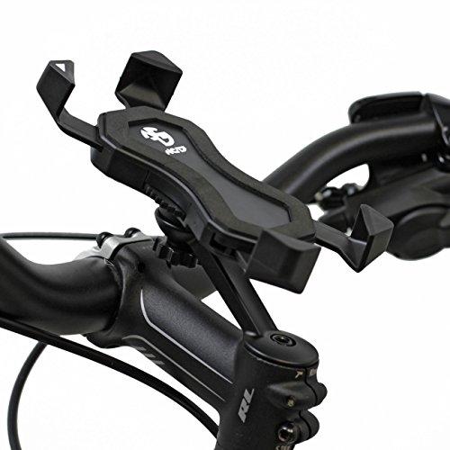 NC-17 Connect 3D Universal Halter 1 / Smartphone und Handy Halterung für Fahrrad, Bike, Motorrad / Handyhalter für iPhone, Galaxy / Halter für Navigation / Halter für Mobiltelefon / schwarz Samsung 3d-mobile