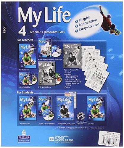 My Life 4 Teacher'S Pack - 9788498374346